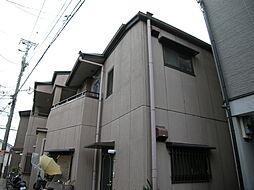 大阪府大阪市旭区赤川4丁目の賃貸アパートの外観