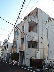 東京都新宿区若葉2丁目の賃貸マンションの外観