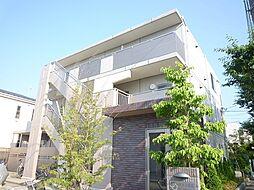 東京都世田谷区上用賀3丁目の賃貸マンションの外観