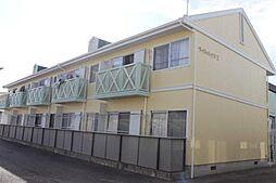 愛知県額田郡幸田町大字横落字竹ノ花の賃貸アパートの外観