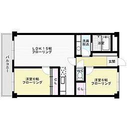 島田第2ビル[3階]の間取り