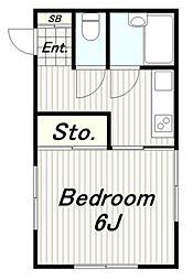 ライブF1・2[2階]の間取り