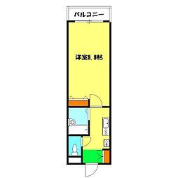 コンフォールマツダ[2階]の間取り