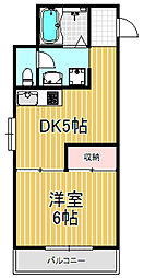 MAC HOUSE3[3階]の間取り