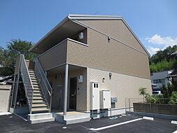 滋賀県米原市梅ケ原の賃貸アパートの外観