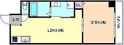 Mプラザ津田駅前参番館〜[2階]の間取り