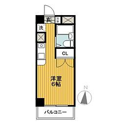 ジェイラム横濱[3階]の間取り