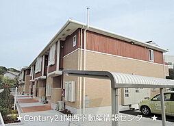 大阪府枚方市尊延寺3丁目の賃貸アパートの外観