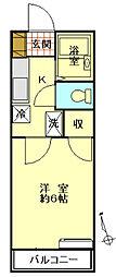 池田アパート[2階]の間取り