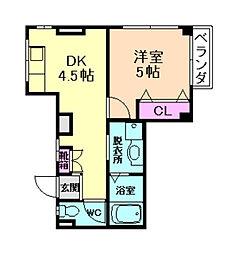 古川マンション[1階]の間取り