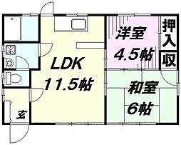 [一戸建] 埼玉県入間市高倉2丁目 の賃貸【/】の間取り