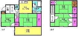 [一戸建] 兵庫県高砂市米田町島 の賃貸【/】の間取り