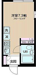 フェリーチェ東高円寺II[3階]の間取り