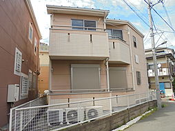 東京都八王子市大和田町6丁目の賃貸アパートの外観