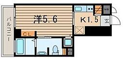 横浜翠葉BuildingI[9階]の間取り
