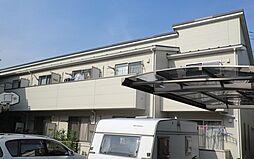埼玉県川口市大字赤山の賃貸アパートの外観