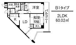 アルデール(日生)[305号室]の間取り
