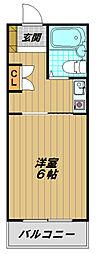 須磨浦ドミトリー[2階]の間取り