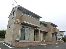 千葉県大網白里市柿餅の賃貸アパートの外観