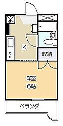 第3ふじたけマンション[1階]の間取り