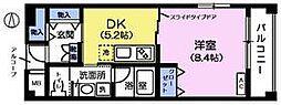 クレール・アイ[5階]の間取り
