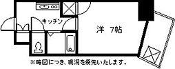 K&K俵ビル10番館[202号室]の間取り