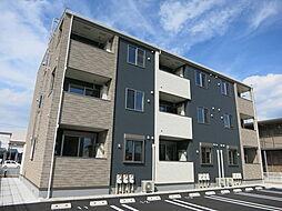 愛知県岡崎市大樹寺1丁目の賃貸アパートの外観