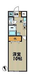YAMASHIN・笛田[102号室]の間取り