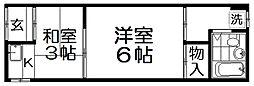 林文化[1階]の間取り
