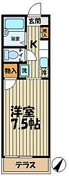 アマンヴィラ鎌倉[1階]の間取り