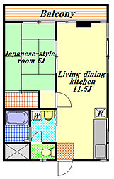 マンショングレート慶[3階]の間取り