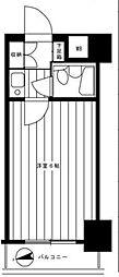 ライオンズマンション中野坂上第2[4階]の間取り