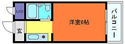 CASAOKAZAKI[1階]の間取り