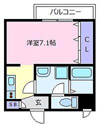 Fstyle上田7丁目[2階]の間取り