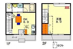 [テラスハウス] 東京都昭島市玉川町4丁目 の賃貸【/】の間取り