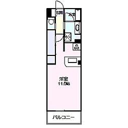 ロイヤルパーク多摩川2番館[343号室]の間取り