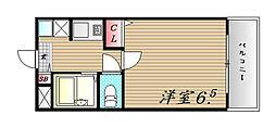 サン スイート神戸[305号室]の間取り