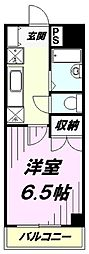 埼玉県所沢市和ケ原1丁目の賃貸マンションの間取り
