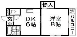 さくらハイツI[2階]の間取り