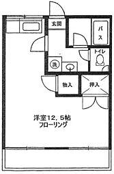 神奈川県横浜市青葉区藤が丘2丁目の賃貸アパートの間取り