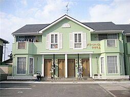 グリーンハイムササキ A[1階]の外観