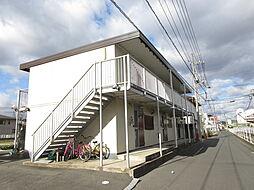 連島コーポ[102号室]の外観
