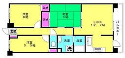 グランプレステージ加古川2[2階]の間取り