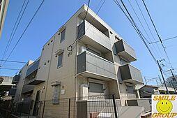 千葉県船橋市海神2丁目の賃貸アパートの外観