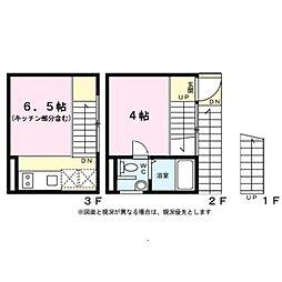 東京都目黒区八雲4丁目の賃貸マンションの間取り