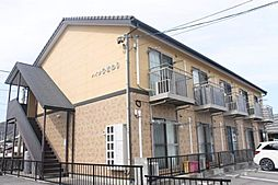 愛知県額田郡幸田町大字芦谷字仲田の賃貸アパートの外観