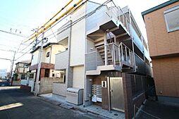 東京都中野区沼袋4丁目の賃貸アパートの外観