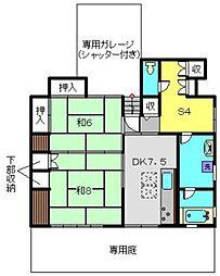 井口ハウス[1号室]の間取り