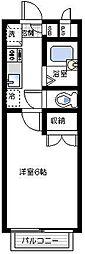 コンフォート汐入[1階]の間取り