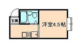 シティプラザ梅香[1階]の間取り